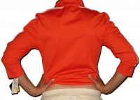 Simora-Jacket *orange/weiss*